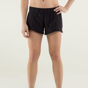 Lululemon Black In A Flash Short